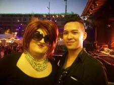 LondonJames meet Lola Lush @ Zurich Pride Festival 2013