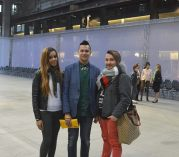 LondonJames meet Crystal Renn and Ege Oran