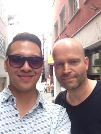 LondonJames meet Marc Forster