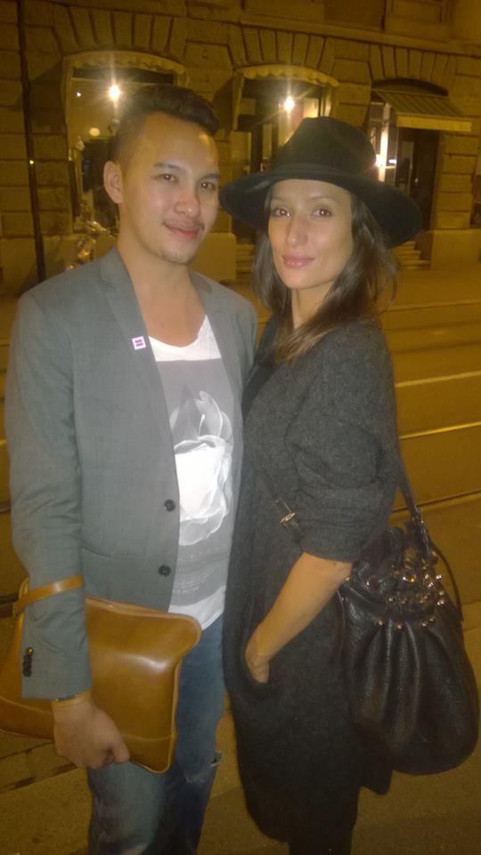 LondonJames meet Melanie Winiger