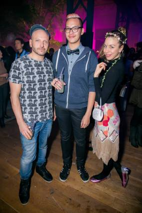 Kiehl's Event with Ivan and Aleks