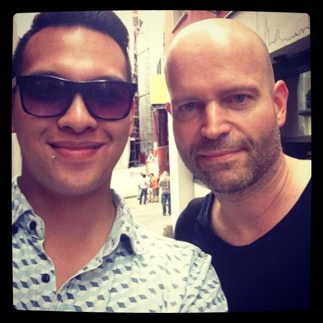 Marc Forster and I