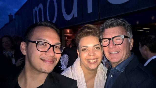 Lifestyle Bloggerin Frida Hirt und Stil-Experte: Clifford Lilley
