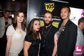 105 Opening Event with Friends: Larissa, Derya, Singer Ivan Modoni