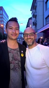 105 Opening Event: LondonJames trifft TV-Koch: René Schudel
