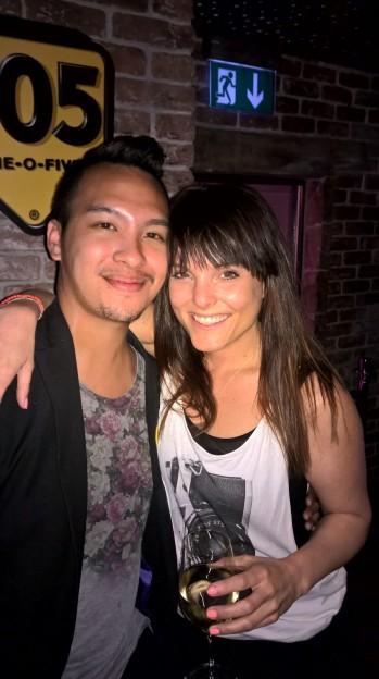 Little Reunion: Amanda Nikolic and I