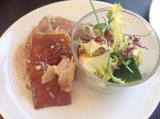 Spanferkel & Kartoffeln Salat
