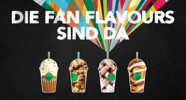 Starbucks- Fan -Flavour Choices
