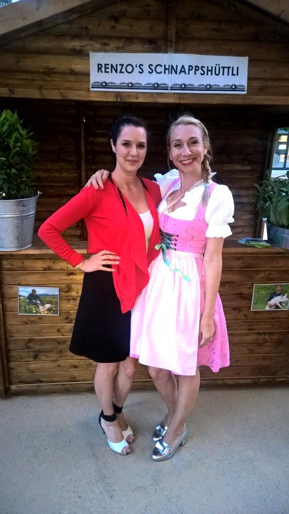Larissa und Pretty in Pink, Blonderblog Tamara Cantieni