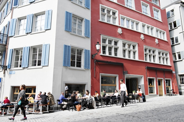 Marktgasse Hotel Building with Baltho Terrace_print