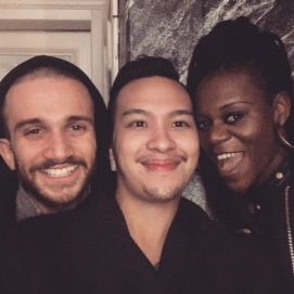 Ivan, James und Alina