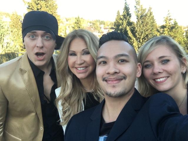 Kevin, Carmen, James and Chantal